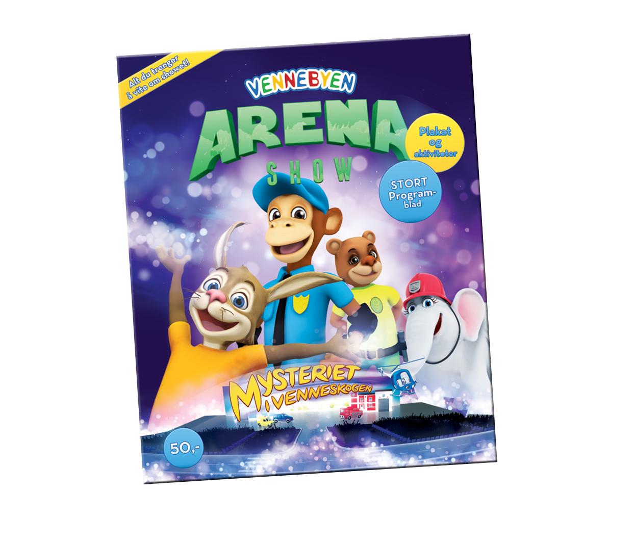 programblad arena show